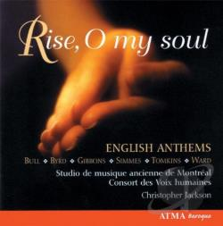 Consort Voix Humaines / Jackson / Tomkins / Ward - Rise, O my soul CD Cover Art