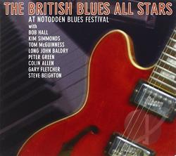 British Blues All Stars: Live at the Notodden Blues Festival CD Cover Art