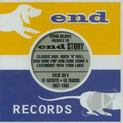George Goldner-End Story CD Cover Art
