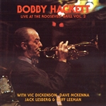 Hackett, Bobby - Live at the Roosevelt Grill, Vol. 2 CD Cover Art