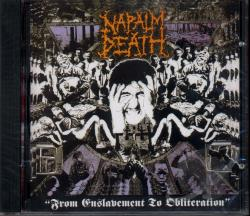 Napalm Death - From Enslavement to Obliteration CD Cover Art