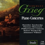 Grieg / Schumann - Piano Concertos CD Cover Art