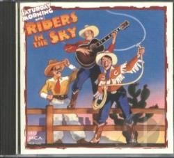 Riders In The Sky - Saturday Morning With Riders CD Cover Art