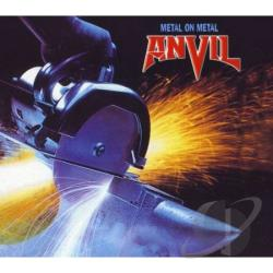 Anvil - Metal on Metal CD Cover Art