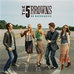 Five Browns - No Boundaries CD Cover Art