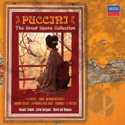 Tebaldi, Renata - Puccini - The Great Opera Collection CD Cover Art
