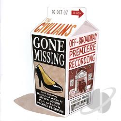 Civilians - Gone Missing CD Cover Art