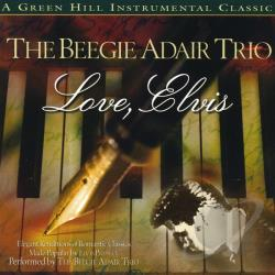 Adair, Beegie - Love, Elvis CD Cover Art