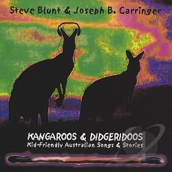 Blunt / Carringer - Kangaroos & Didgeridoos: Kid-Friendly Australian S CD Cover Art