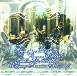 Trifonova, Olga - Rossini/Mozart/Belini:Stars Of The Ma CD Cover Art