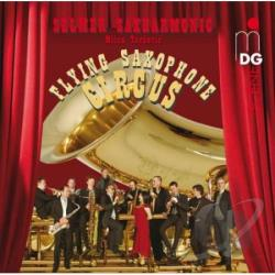 Dvorak / Milhaud / Selmer Saxharmonic / Turkovic - Flying Saxophone Circus SA Cover Art