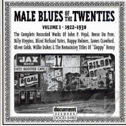 Male Blues of the Twenties CD Cover Art