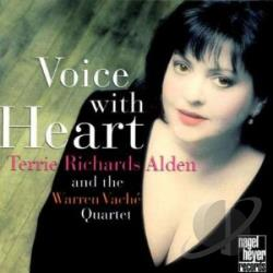 Alden, Terrie Richards - Voice with Heart CD Cover Art
