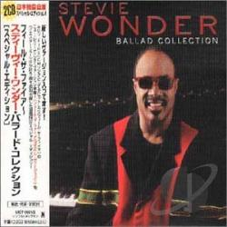 Wonder, Stevie - Ballad Collection CD Cover Art
