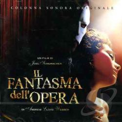 Il Fantasma Dell'Opera Di Andrew Lloyd Webber CD Cover Art