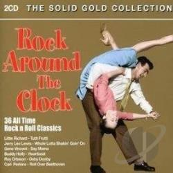 Rock Around the Clock: 36 All Time Rock and Roll C CD Cover Art