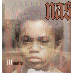 Nas - Illmatic LP Cover Art