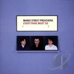 Manic Street Preachers - Everything Must Go CD Cover Art