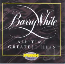 White, Barry - All-Time Greatest Hits CD Cover Art