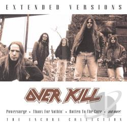 Overkill - Extended Versions CD Cover Art