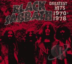 Black Sabbath - Greatest Hits 1970-1978 CD Cover Art