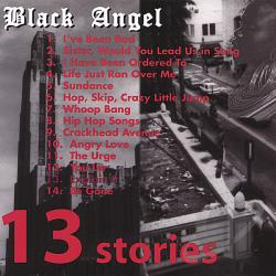 Black Angel - 13 Stories CD Cover Art