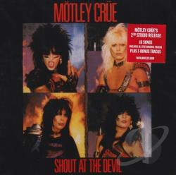 Motley Crue - Shout at the Devil CD Cover Art