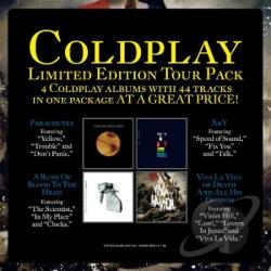 Coldplay - Tour Pack CD Cover Art