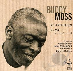 Moss, Buddy - Atlanta Blues: His 23 Greatest Songs CD Cover Art