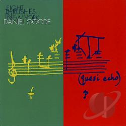Goode, Daniel - Eight Thrushes In New York CD Cover Art