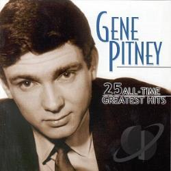Pitney, Gene - 25 All-Time Greatest Hits CD Cover Art