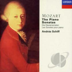 Mozart / Schiff - Mozart: The Piano Sonatas CD Cover Art