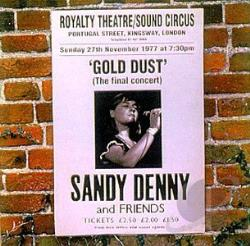 Denny, Sandy - Gold Dust: Live at the Royalty CD Cover Art