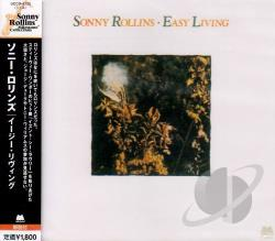 Rollins, Sonny - Easy Living CD Cover Art