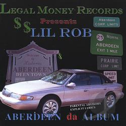 Rob, Lil - Aberdeen The Album CD Cover Art