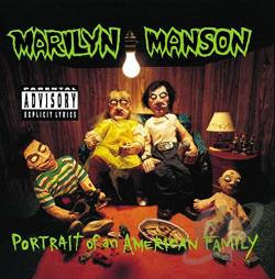 Manson, Marilyn - Portrait of an American Family CD Cover Art
