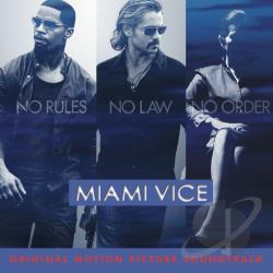 Miami Vice CD Cover Art
