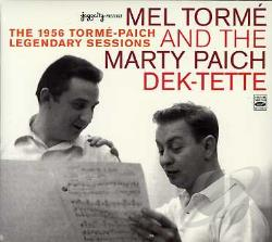 Paich, Marty Dek-Tette / Torme, Mel - 1956 Torme-Paich Legendary Sessions CD Cover Art