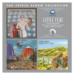 Little Feat - Triple Album Collection CD Cover Art