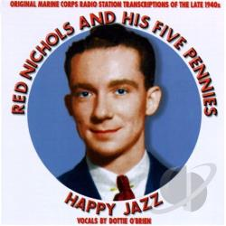 Nichols, Red - Happy Jazz CD Cover Art