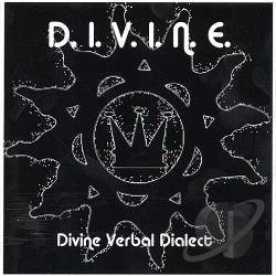 Divine Verbal Dialect - D.I.V.I.N.E. CD Cover Art