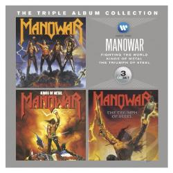 Manowar - Triple Album Collection CD Cover Art