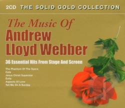 Webber, Andrew Lloyd - 36 Essential Hits From Stage And Screen CD Cover Art