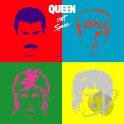 Queen - Hot Space CD Cover Art