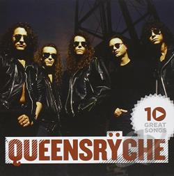 Queensryche - 10 Great Songs CD Cover Art