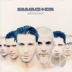Rammstein - Herzeleid CD Cover Art