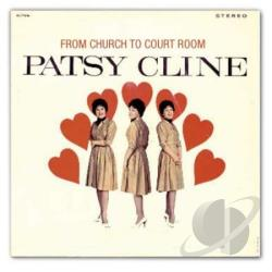Cline, Patsy - From Church to Courtroom CD Cover Art
