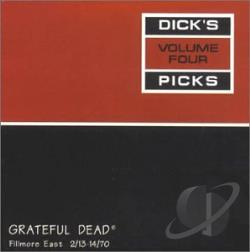 Grateful Dead - Dick's Picks Volume Four CD Cover Art