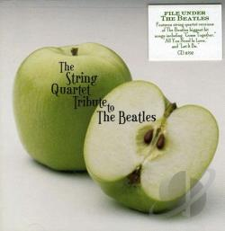 String Quartet Tribute to the Beatles CD Cover Art