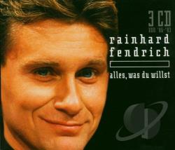 Fendrich, Rainhard - Alles Was Du Willst CD Cover Art